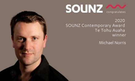 Michael Norris wins the 2020 SOUNZ Contemporary Award | Te Tohu Auaha