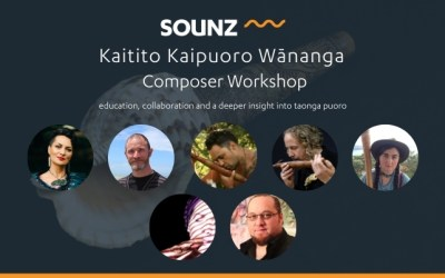 SOUNZ Kaitito Kaipuoro Wānanga | Composer Workshop | November 2020