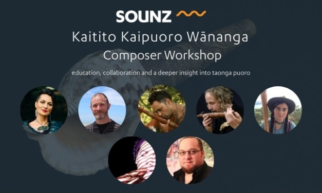 SOUNZ Kaitito Kaipuoro Wānanga | Composer Workshop | November 2020