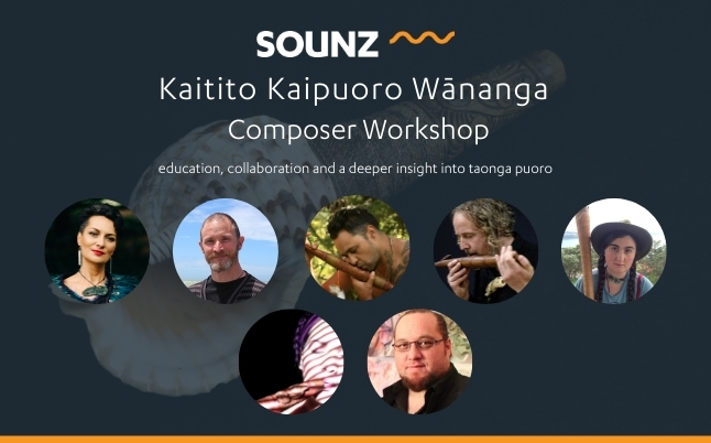 SOUNZ Kaitito Kaipuoro Wānanga | Composer Workshop | April 2020