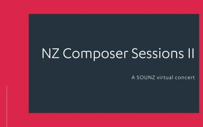 NZ Composer Sessions II