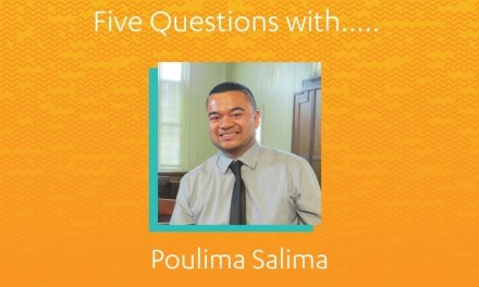Five Questions with Poulima Salima