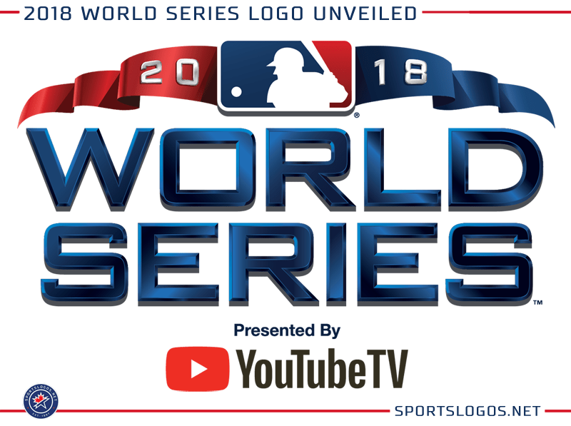 2018 World Series Logo MLB Baseball  Chris Creamers