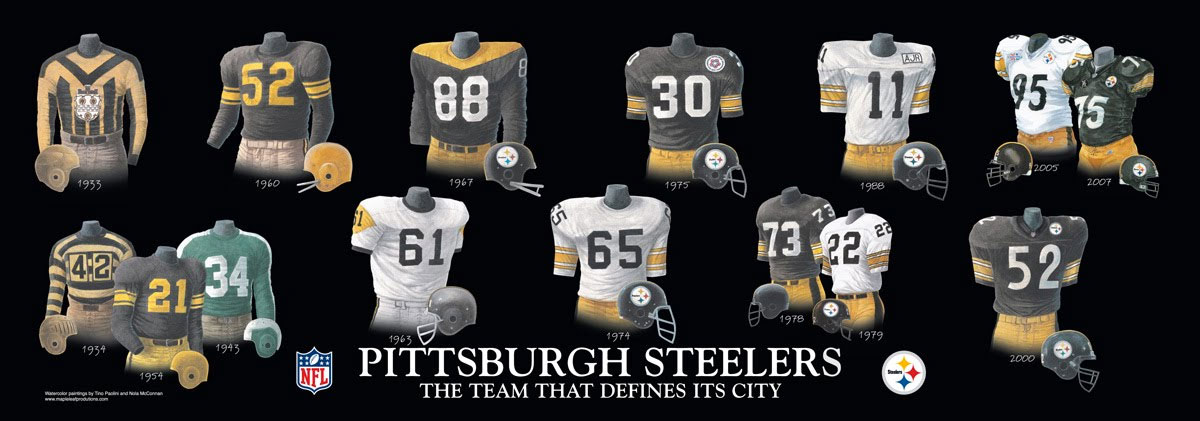 Steelers Set To Unveil New Throwback Alternate Uniform