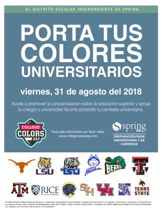 Porta Tus Colores Universitarios