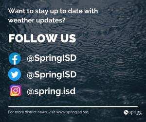 Want to stay up to date with weather updates? Follow us on Facebook, Twitter and Instagram