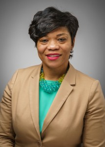 Kenisha Williams, principal of Twin Creeks Middle School