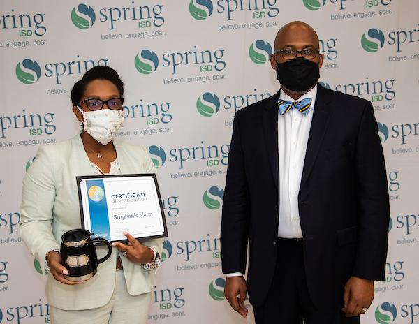 Stephanie Vann and Dr. Rodney Watson