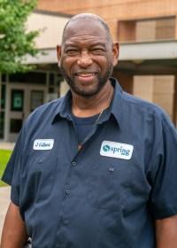 Lewis Elementary School Plant Operator James Gilbert