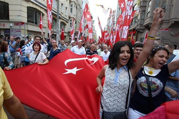 Protests have changed Turkey says Stanford expert