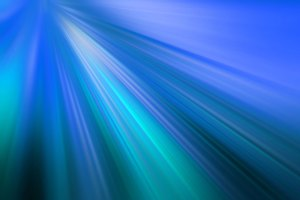 light beams on a blue background