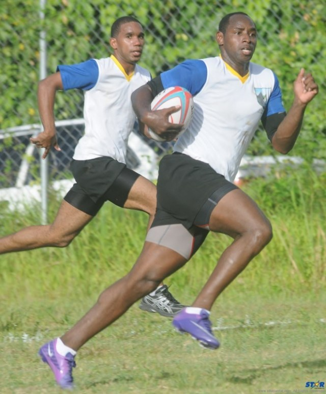 Gerry Charles is the Coach of the National Under-19 Rugby Team.