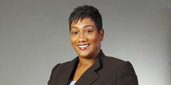 Heather Goldson, Scotiabank's Marketing director for the English Caribbean.