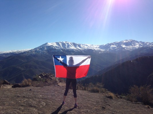 Honorable Mention, Tommies Abroad: Photo by Natalie Mathias, Santiago, Chile. CIEE Liberal Arts-Santiago, Chile.