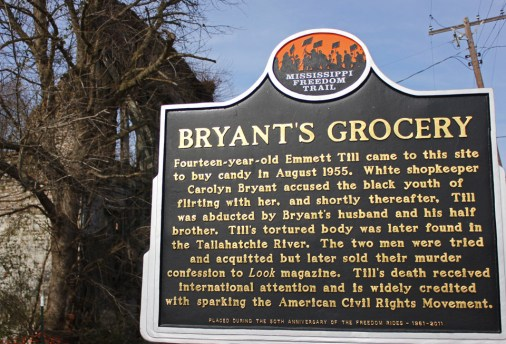 Site of Bryant's Grocery Store, Money, Mississippi. Photo by Kathryn Hubly.