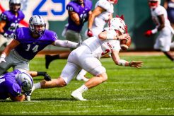 St. Thomas' defense pressured St. John's offense early and often.
