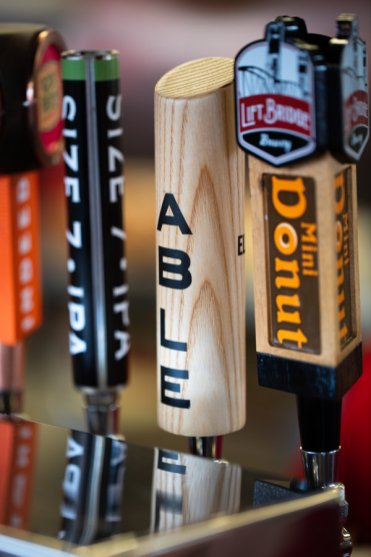 A tap for Able Seedhouse + Brewery at the Minnesota State Fair on August 22, 2019 in St. Paul.