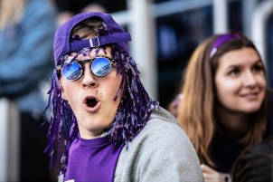 Purple pride took many forms on Saturday during the 2019 Tommie-Johnnie game.