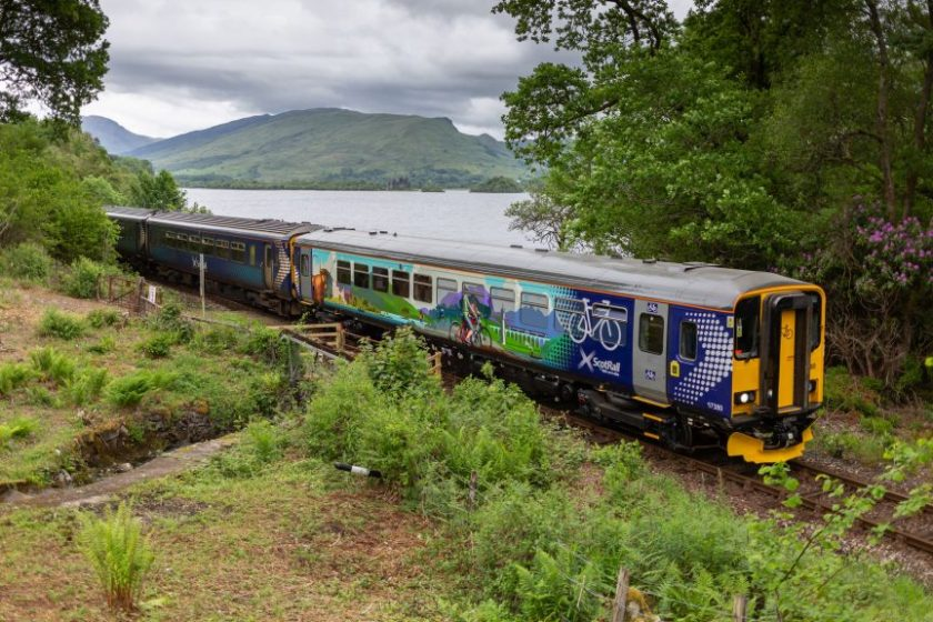 The carriages are being introduced on the new ScotRail Highland Explorer.