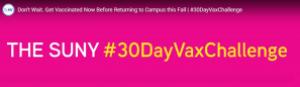 The SUNY #30DayVaxChallenge