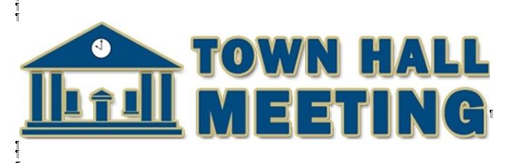 Town Hall Meeting Logo