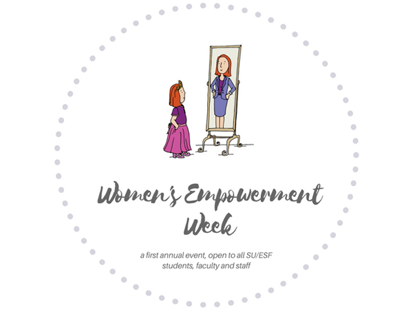 First SU Women's Empowerment Week to Take Place April 3-7