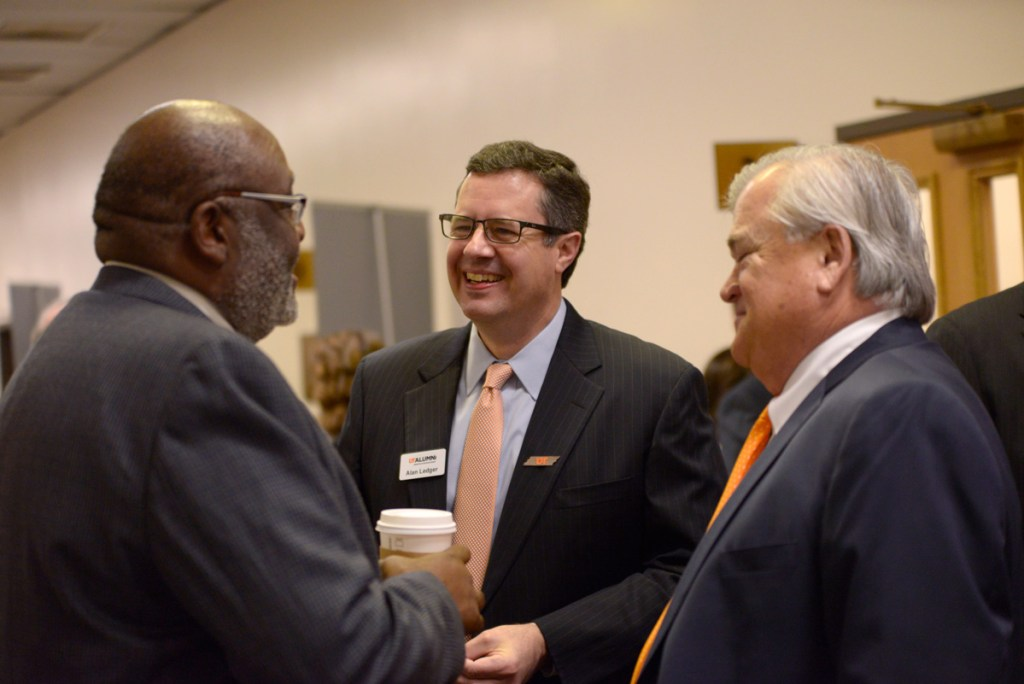 UT Alumni President Alan Ledger at UT Day on the Hill.
