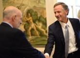 UT President Joe DiPietro and Tennessee Gov. Bill Haslam