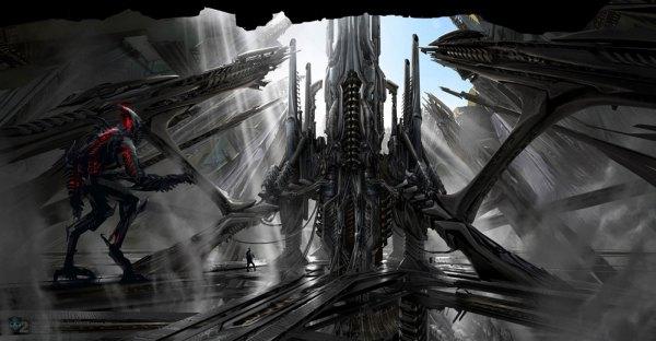 Ryan Church Revenge Of Fallen Concept Art