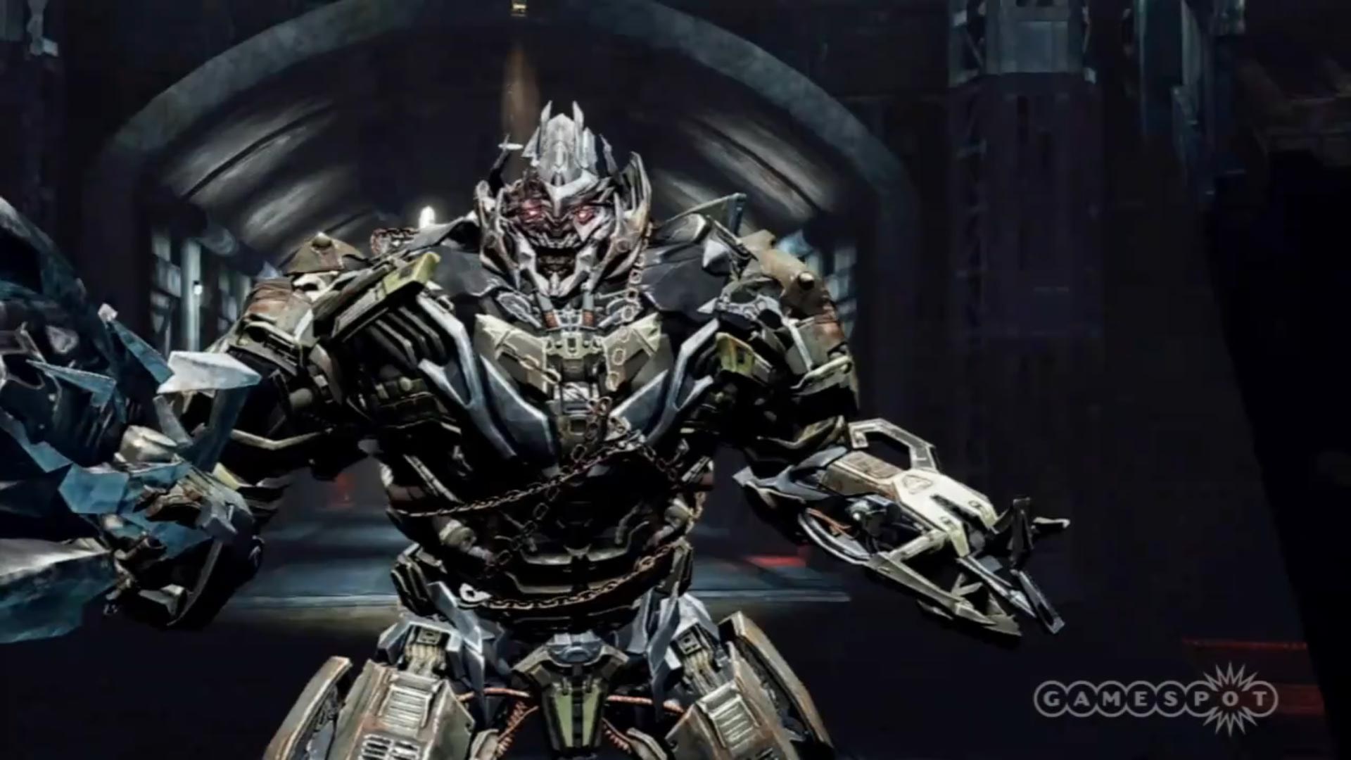 Fall Of Cybertron Wallpaper Hd New Transformers Dark Of The Moon Game Trailer Reveals
