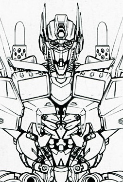 More Design Drawings Of Movie Optimus Prime And Bumblebee