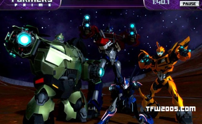 Hub Transformers Prime Puzzle Game Transformers News