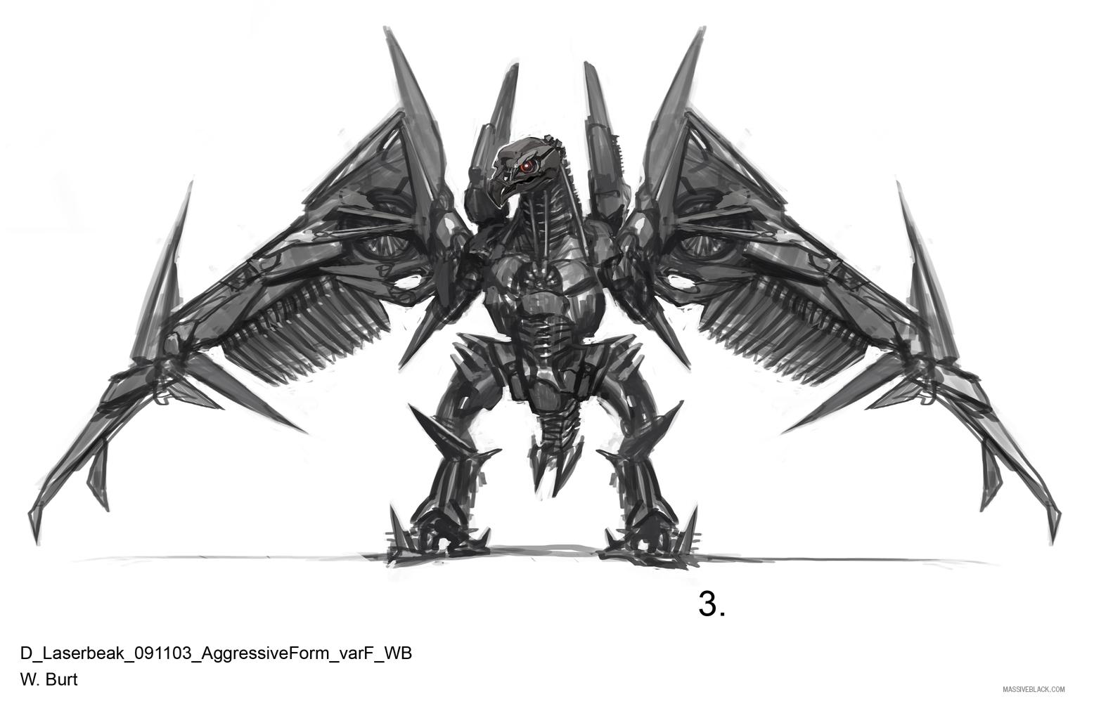 Massive Black Transformers: Dark Of The Moon Concept Art