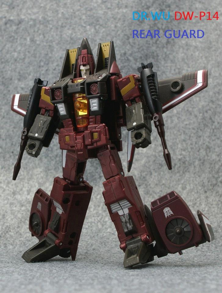 Dr Wu DW-P14 Classics Conehead Seeker Accessory Sets - Transformers News - TFW2005