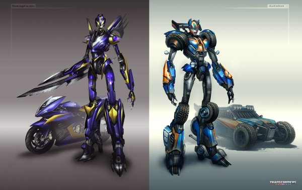 Transformers Universe Concept Art Tom Stockwell