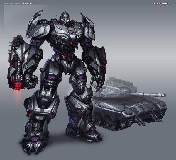 Transformers Megatron Concept Art