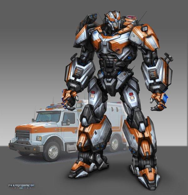 Ratchet Transformers Universe Concept Art