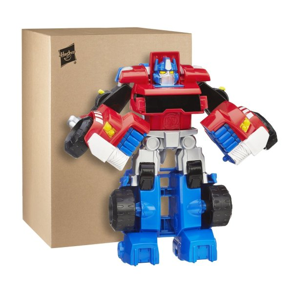 Transformers Rescue Bots Optimus Prime Tow Truck Figure - Tfw2005