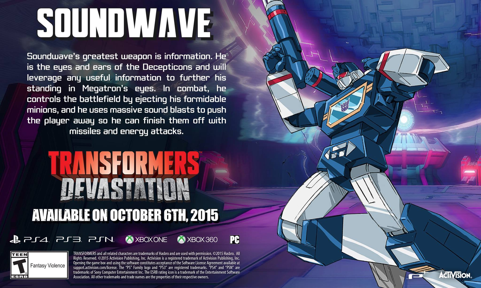 Girl Generation Cartoon Wallpaper Transformers Devastation Soundwave Character Profile