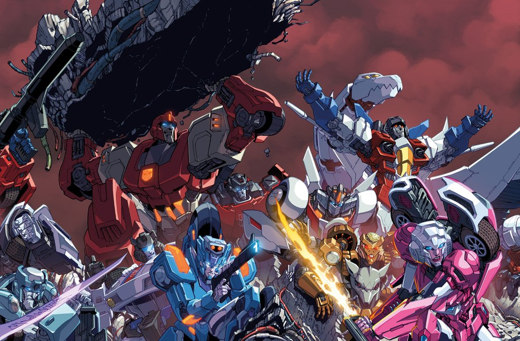 Transformers Fall Of Cybertron Wallpaper Idw Transformers Countdown To 50 Cover Artwork
