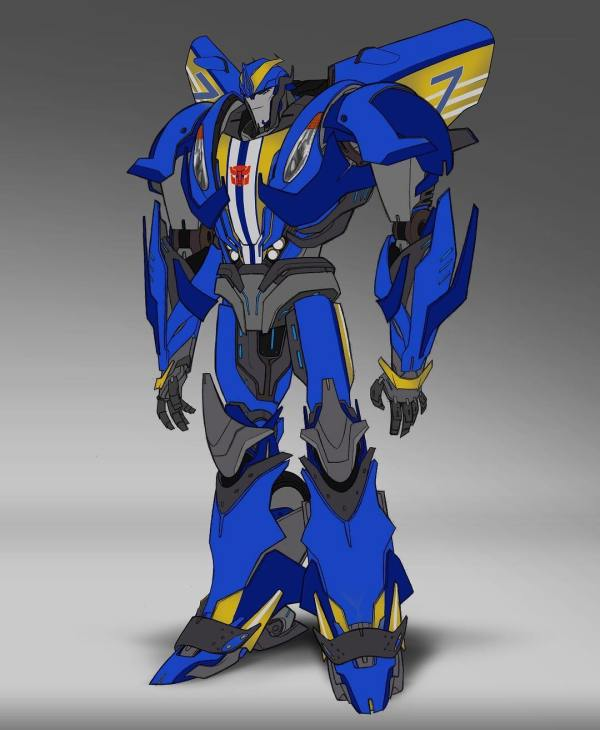 Transformers Prime Concept Art