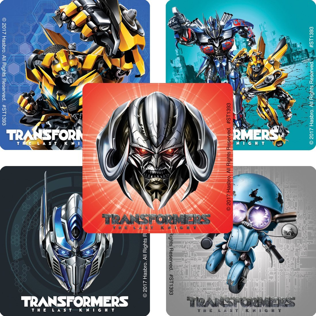 Transformers: The Last Knight Licensed Stickers From SmileMakers - Transformers News - TFW2005