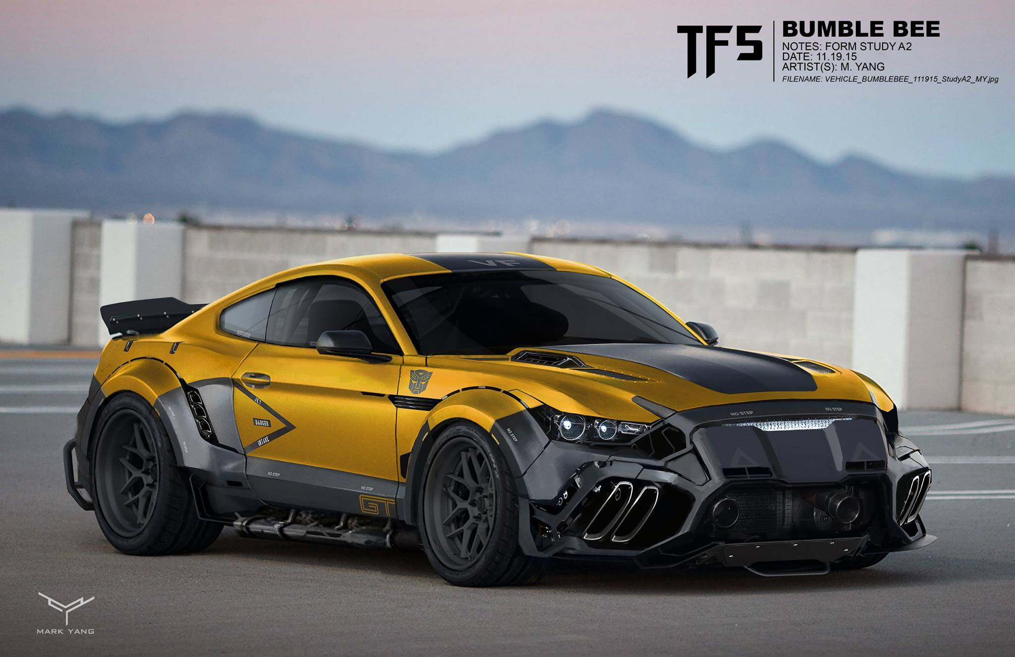 Cool Cars Drifting Wallpapers Hd Transformers The Last Knight Concept Art By Mark Yang