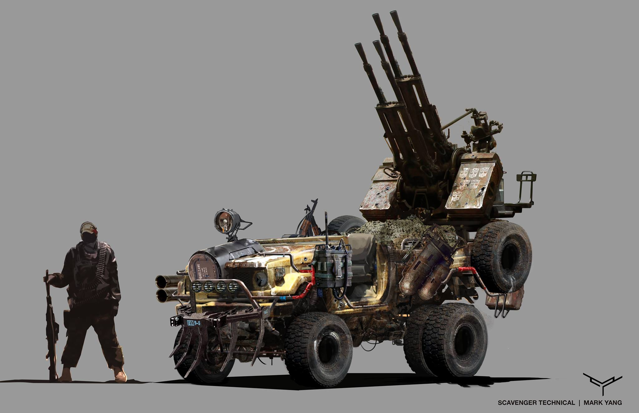 Transformers: The Last Knight Concept Art By Mark Yang - Bumblebee. Barricade. Optimus And More - Transformers News - TFW2005
