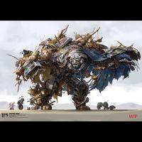 Transformers: The Last Knight Concept Art - Canopy, Drift ...