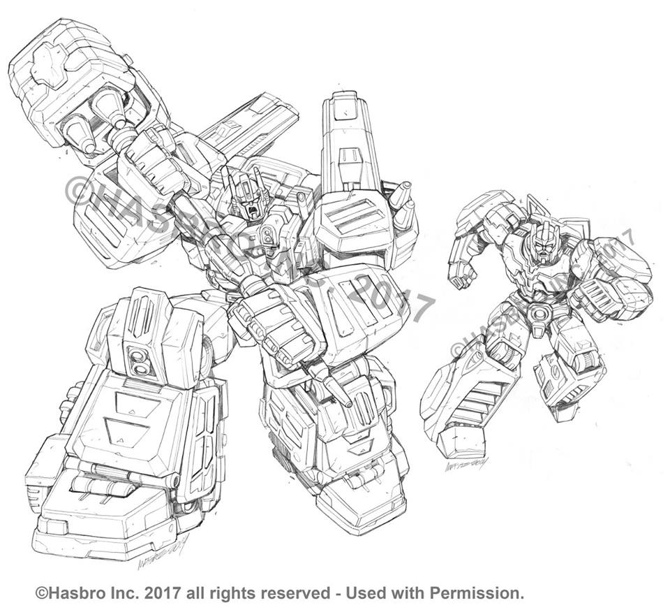 Combiner Wars Packaging Art By Marcelo Matere: Ultra