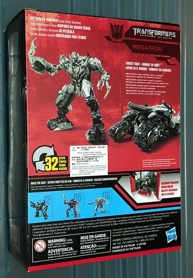 Studio Series Wave 2 Voyager Revenge Of The Fallen Megaton