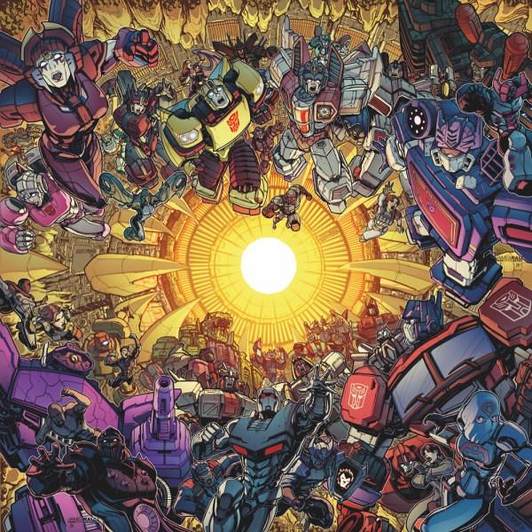 James Raiz' Full Unicron Cover Art Revealed