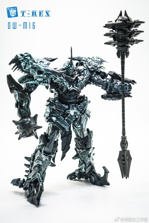 Dr Wu DW-M16 T-Rex Color Prototype - Battle Spear For Studio Series Grimlock - Transformers News - TFW2005
