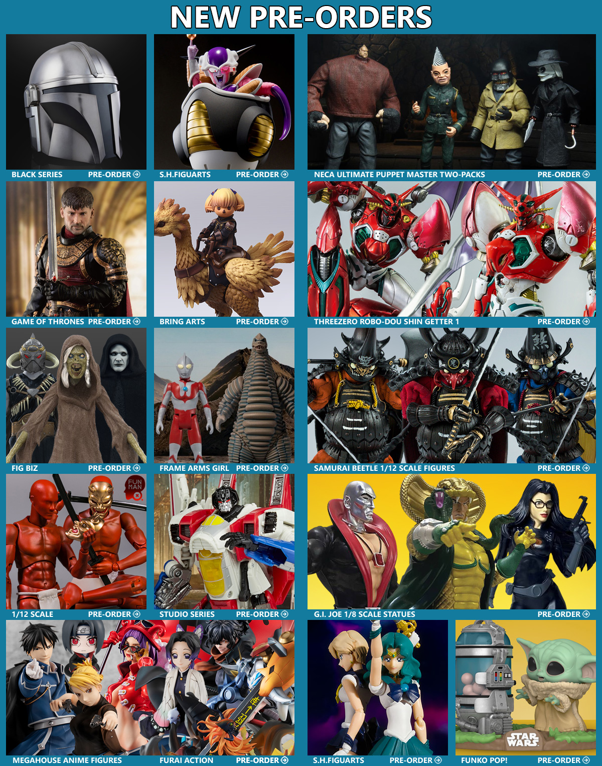 Master Jitu Biz : master, News!, Mandalorian,, Getter, Robo,, Dragon, Ball,, Ultraman,, Puppet, Master,, Transformers,, Final, Fantasy, More!, Transformers, TFW2005